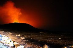 Piton de la fournaise en éruption (Septembre 2015)
