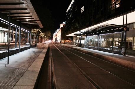 Arrêt de tram - Lyon