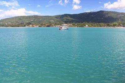 Notre arrivée sur l'île