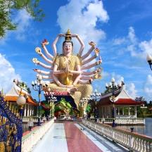 Temple à Koh Samui
