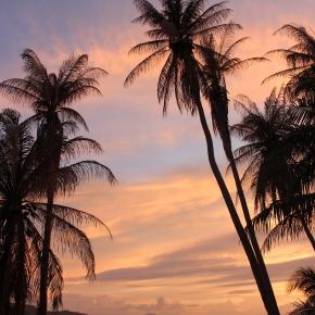 Coucher du soleil à Koh Samui