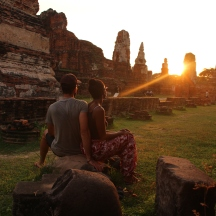 Ruines d'Ayutthaya